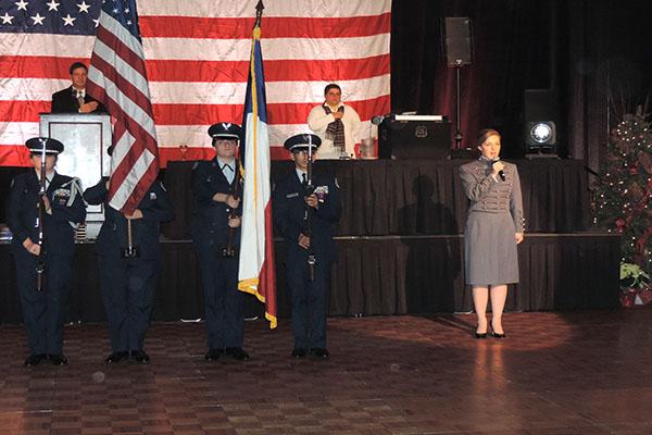 Commanding cadets