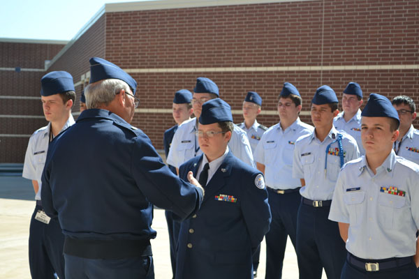 Weekly ROTC inspections