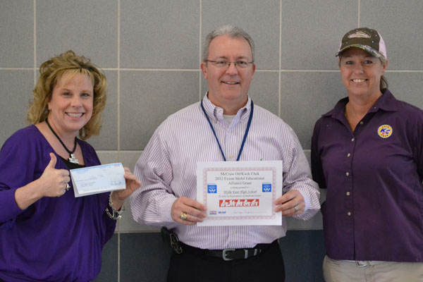 ExxonMobil awards $500 grant