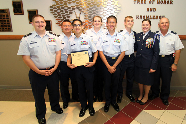 Cadets honor