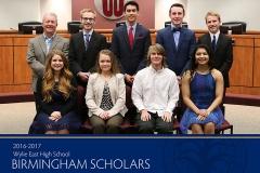 2017 WEHS Birmingham Scholars