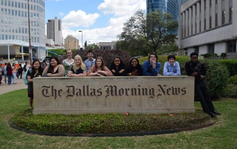 Newspaper takes on Dallas Morning News' High School Journalism Day