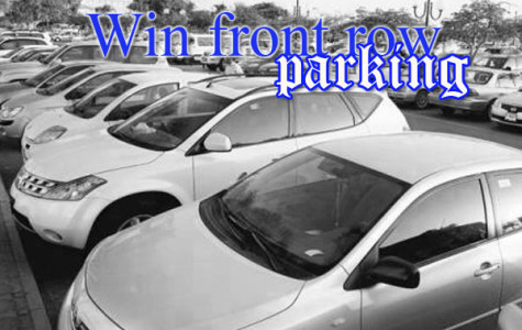 Win front row parking