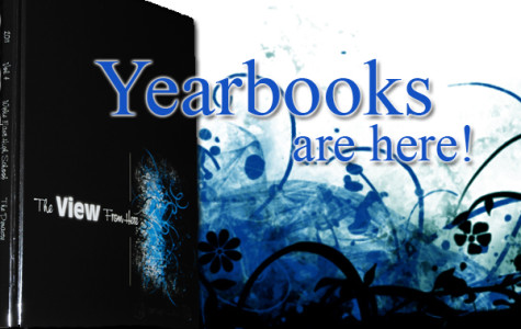 Yearbooks are here