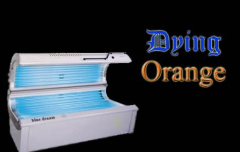 Dying orange