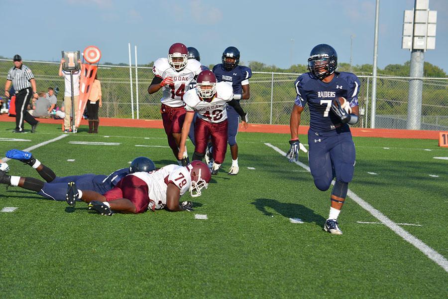 Freshman, JV open season against Red Oak