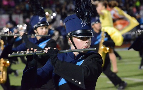 Wylie East Band leaves home