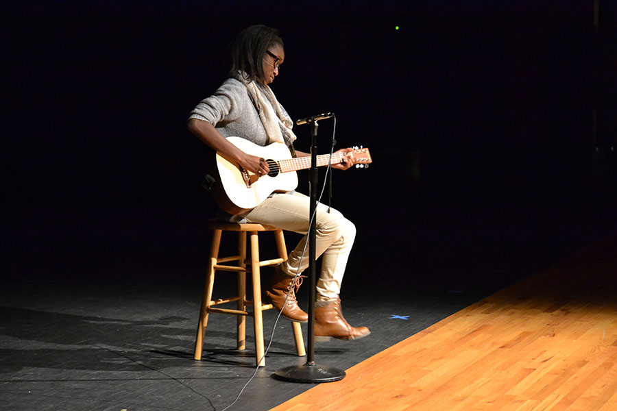 Music+to+my+mouth+%5C%5C+Playing+an+original+love+song+she+had+written+about+peanut+butter+and+jelly+at+the+talent+show%2C+sophomore+Temi+George+received+positive+feedback+from+the+audience.+%22Everyone+seemed+to+really+enjoy+it%2C%22+George+said.