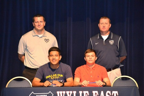 Soccer players sign with West Texas A&M