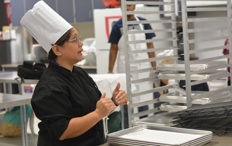 Students engage in culinary program