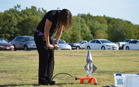 Bottle rockets takeoff