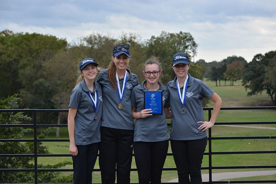 JV girls golf wins first place at Forney tournament