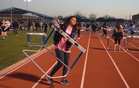 Hurdling into district