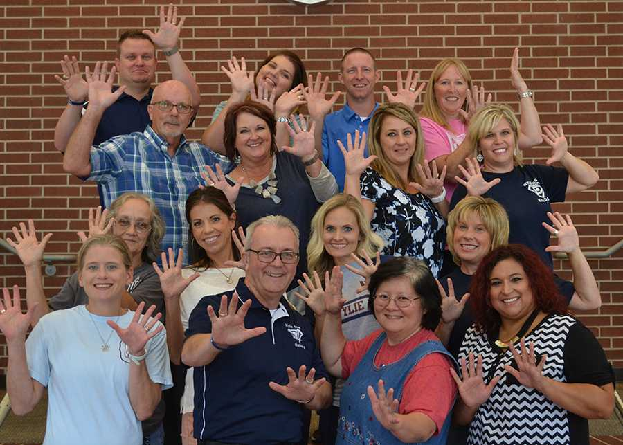 Alpha teachers \\ Sixteen teachers and staff members still call Wylie East home. Principal Mike Williams recalls the changes that have taken place over the last 10 years.