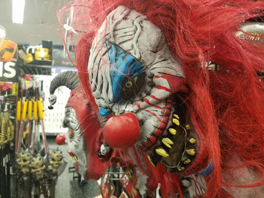 The masked terror \\ Coming in with a fearful tactic, clowns take on social media and cities with a frightful scare.