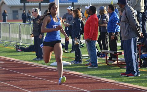 Varsity female track team sets school record