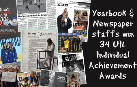 Publication staffs win 34 awards at UIL
