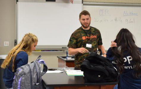 Former Raider, soccer player from Alpha Class returns as teacher