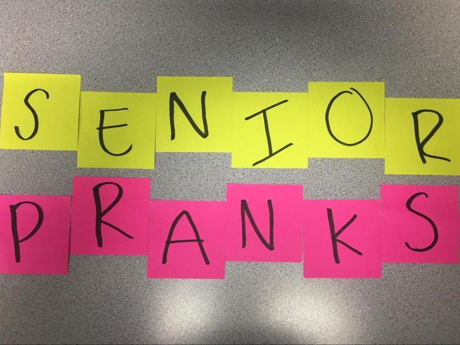15 legal senior pranks