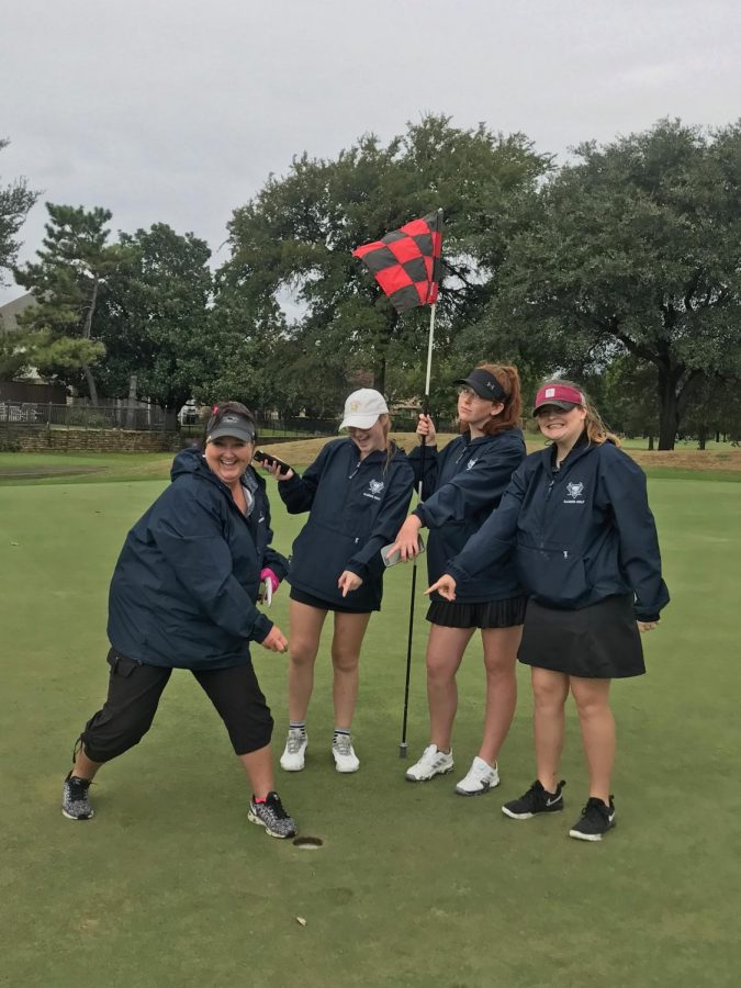One+to+remember+%5C%5C+Head+Gold+Coach+Melinda+Black+makes+a+hole+in+one+at+the+Duck+Creek+Tournament+Sept.+28.