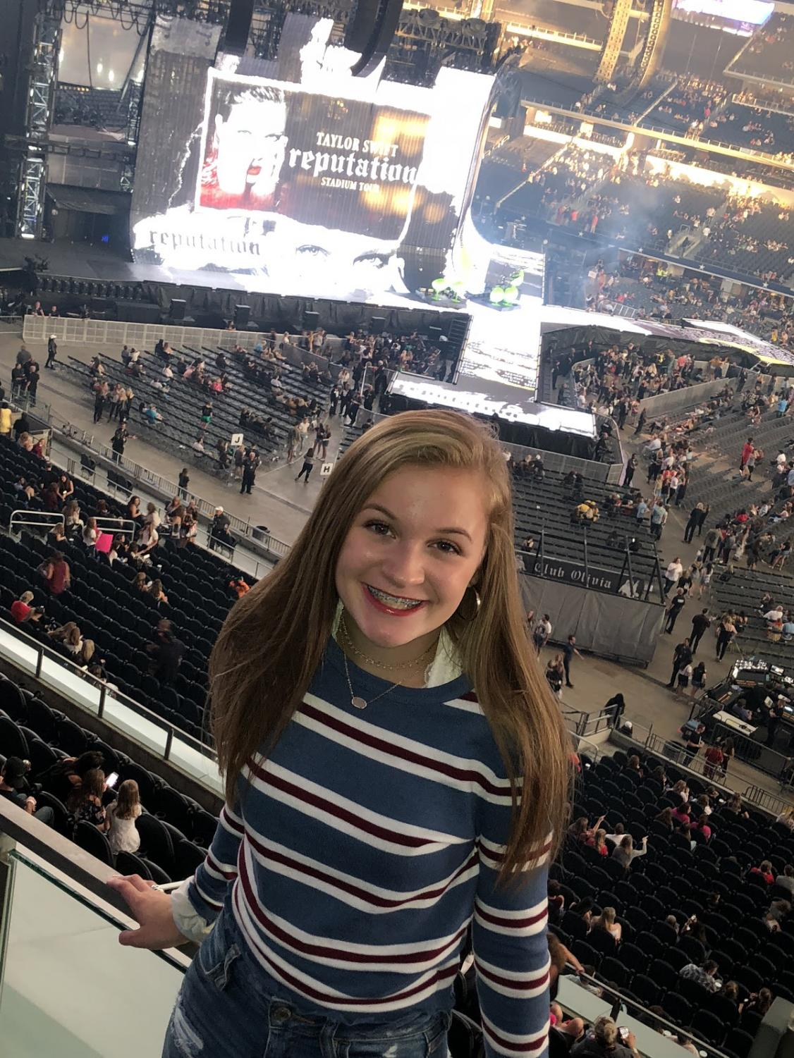 TSwiftness \\ The mega-superstar didn't let me down. Attending the Reputation Stadium tour was one of the greatest nights of my life.