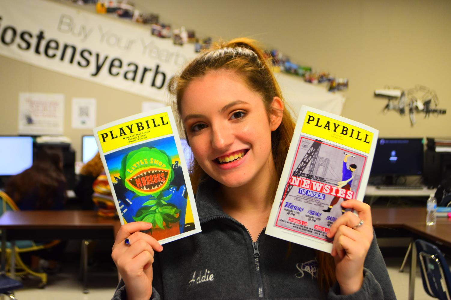 Fit the bill // While both shows were thoroughly entertaining, East's production of Little Shop of Horrors stole the show compared to High's Newsies.  Both shows took place the weekend of Jan. 18.