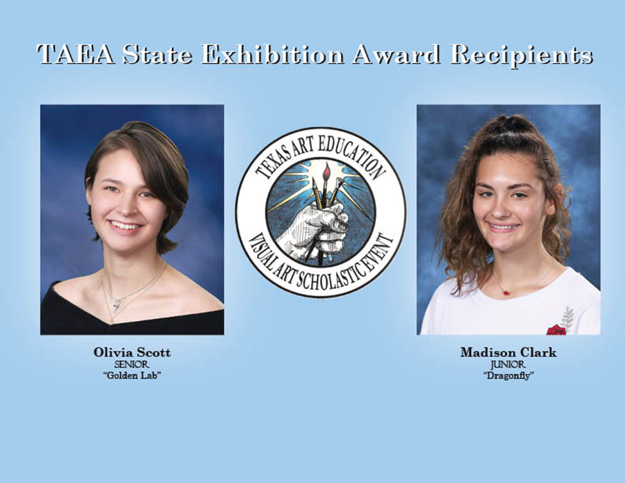 "State of the art students // For junior Madison Clark and senior Olivia Scott, seeing their names on the list of selected high school artists in one of Texas' competitive art exhibitions was ""surprising"" and ""exciting."" Next month, both Clark and Scott's artwork will be featured in the 2019 Texas Art Education Association (TAEA) Youth Art Month Capitol Celebration at the Bob Bullock Texas State History Museum March 3-17 and the Lower Rotunda at the State Capitol in Austin March 24-31."