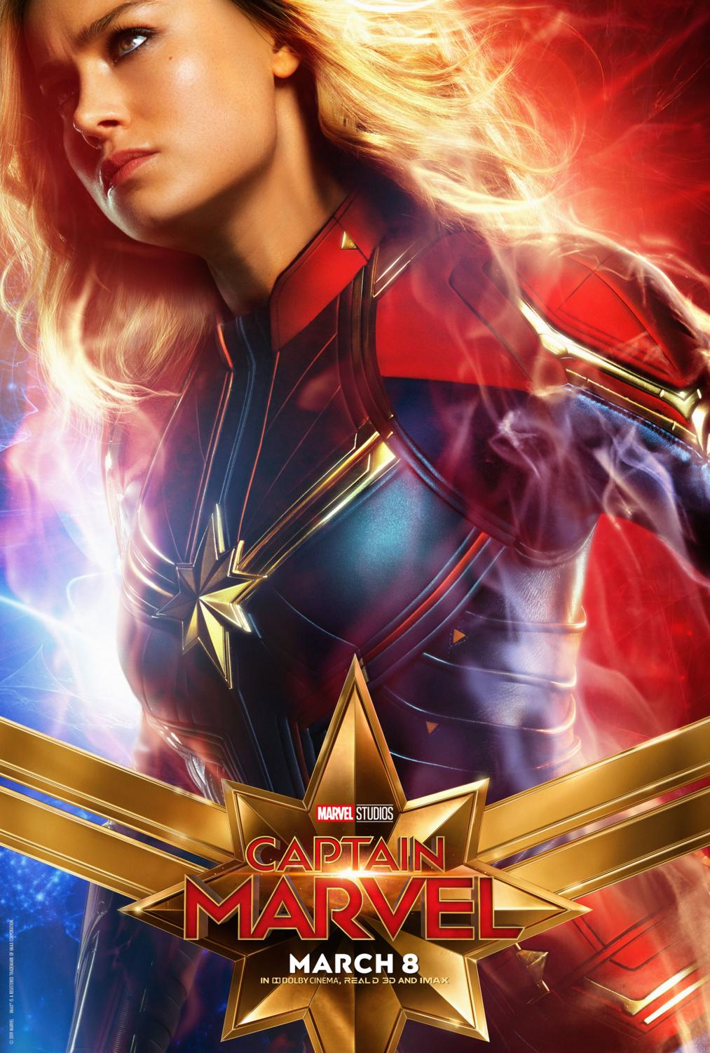 A HERo \\ Captain Marvel breaks boundaries as the first female-led superhero film from the Marvel Cinematic Universe. However, due to this, she faces unjust scrutiny for not being feminine enough.