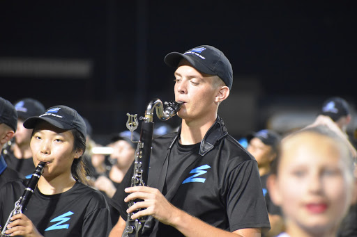 Band, colorguard conquer award-winning show