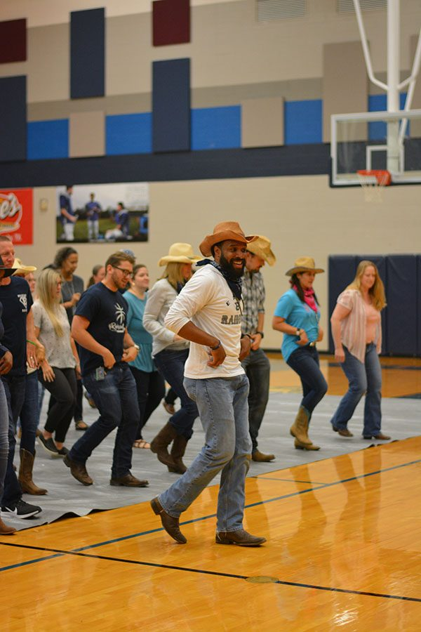 Head of the class \\ Following marketing and digital audio teacher Mr. Levi Turner's lead, the staff kicks off the school year with a challenge to all their feeder schools.