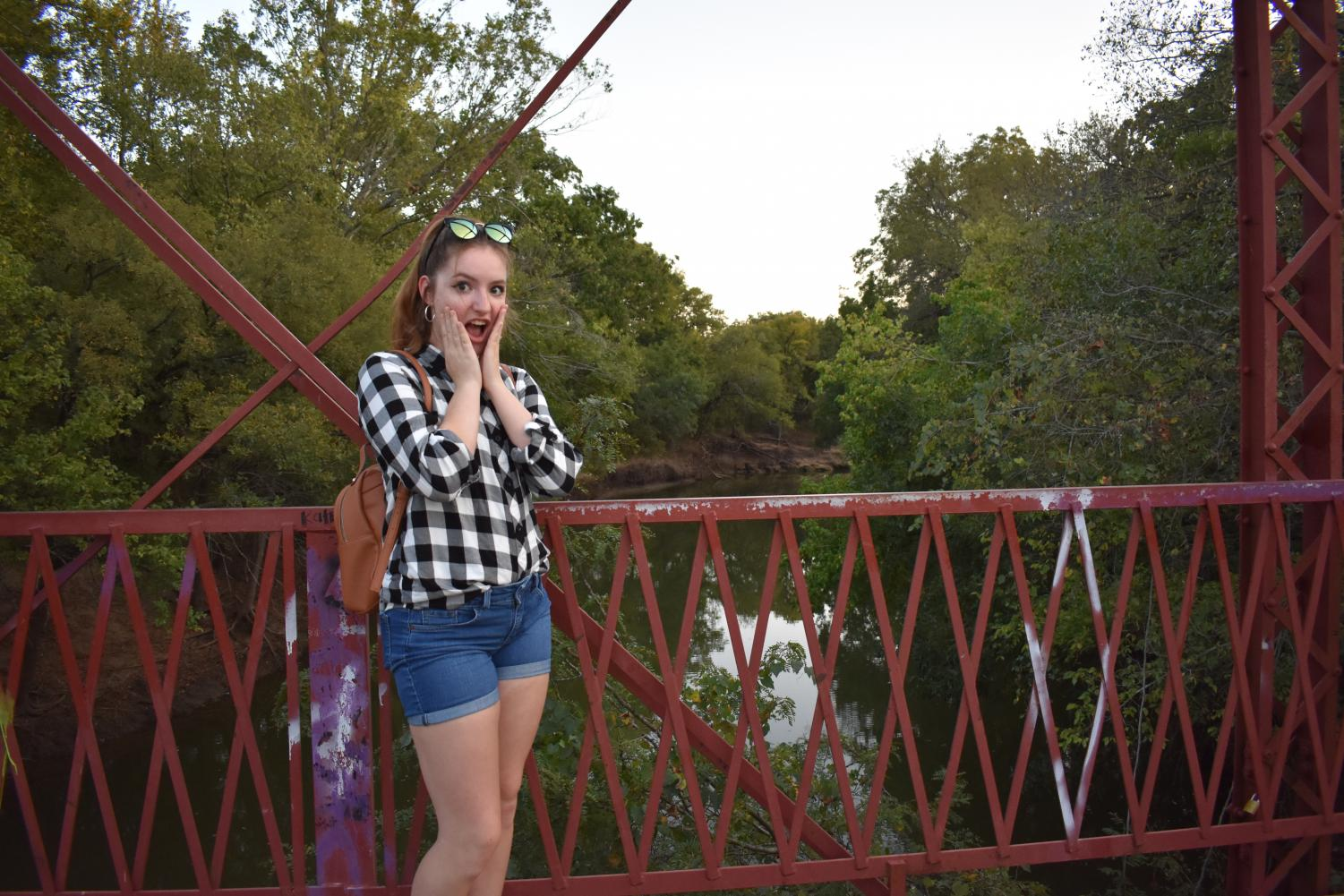 Beyond a bridge \\ Though I did not see anything supernatural at the Goatman's bridge in Denton, Texas, tales of the site tell a different story.