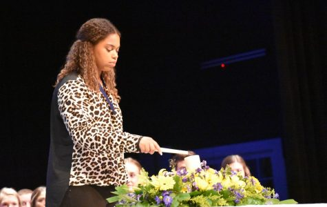 National Honor Society welcomes 95 new members at 10th annual induction ceremony