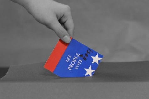 Give back choice // California is considering a new law that would force their citizens to vote.  Although several countries already do this, from North Korea to Australia, that does not mean the law is a good idea. The law should not be passed, and would only worsen the voting situation in California. Instead, they should make the voting there more fair. Give their citizens a choice again.