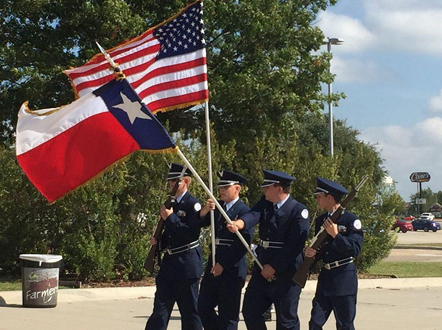 Best in class \\ JROTC Colorguard wins first overall at Lewsiville competition Oct. 15