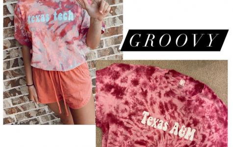A cheerful tee-shirt designer