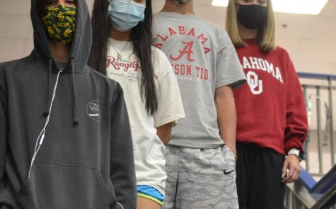 Proper attire \\ During the pandemic, students should get a more relaxed dress code. If given the chance, students will not abuse a more lax dress code opportunity.