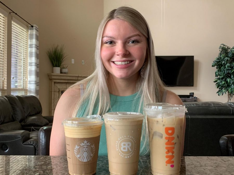Cold weather brew \\ Whether you are a coffee connoisseur or not, you have to try these fall drinks. I personally love everything fall! Brooke Whitesell said.