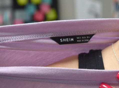 To the brim \\ Stop supporting fast fashion. SHEIN is cheaply manufactured. Its low prices contribute to an influx of sales which in turn causes landfills to overfill.